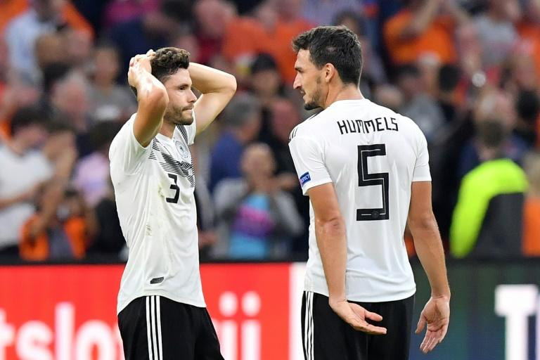 Germany defender Mats Hummels blamed their 3-0 defeat against Holland on bad luck and poor finishing