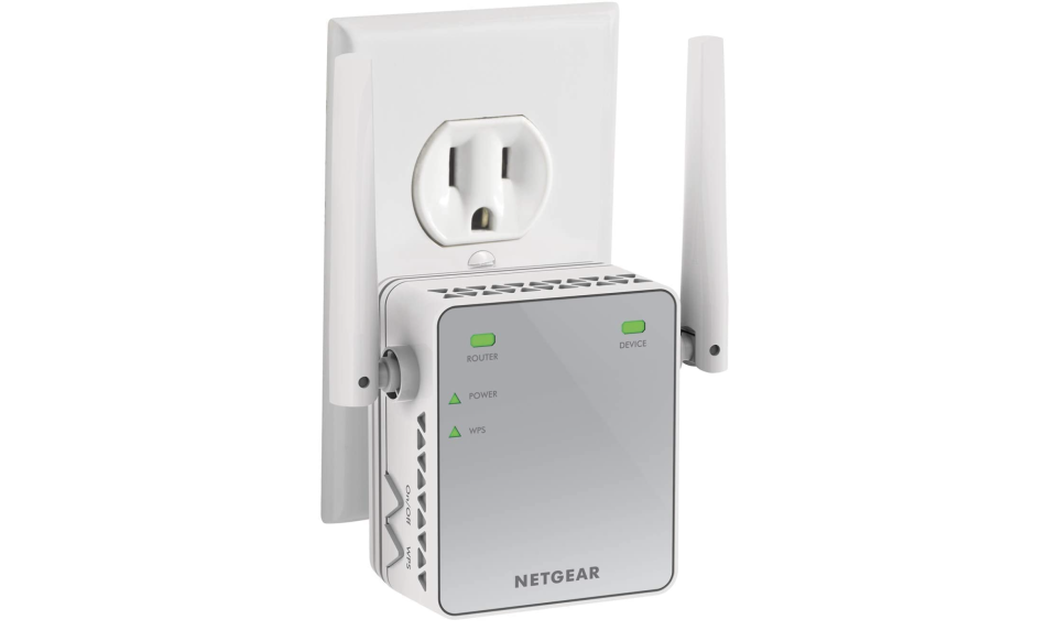 Netgear N300 Wi-Fi Range Extender, Essentials Edition. Foto: amazon.com.mx