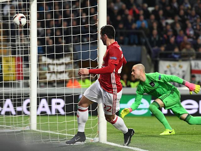 Mkhitaryan has scored in four consecutive Europa League games: Getty