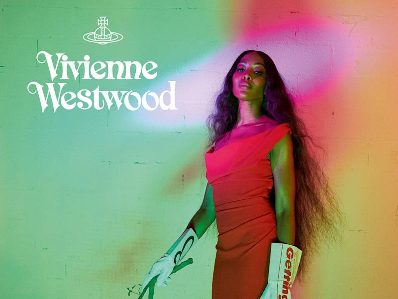 Naomi Campbell fronts first-ever Vivienne Westwood campaign