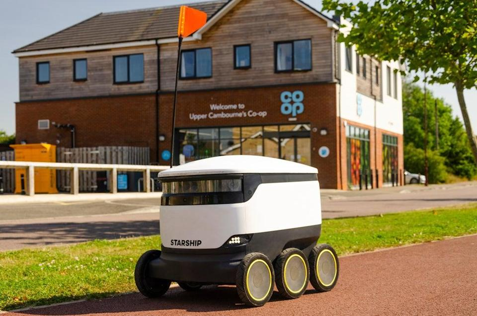 Co-op is investing in its partnership with a robot company (Co-op/PA)