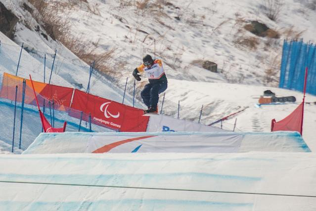 Winter Paralympics: Snowboarder Moore overwhelmed by PyeongChang debut