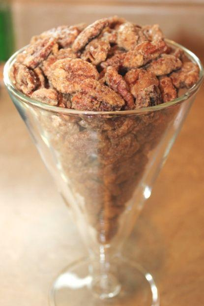 "<p>The main ingredient in that holiday pecan pie can double as a seriously addicting (and easy) appetizer.</p><p>Get the recipe from <a href=""http://fireflytales.net/blog/11/2012/cinnamon-sugar-pecans-recipe/"" rel=""nofollow noopener"" target=""_blank"" data-ylk=""slk:Firefly Tales"" class=""link rapid-noclick-resp"">Firefly Tales</a>.</p>"