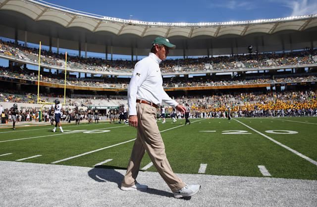 The NCAA has completed its investigation into Baylor amid the massive sexual assault scandal surrounding the university and the football program, and has sent a formal notice of allegations to the school. (Getty Images)