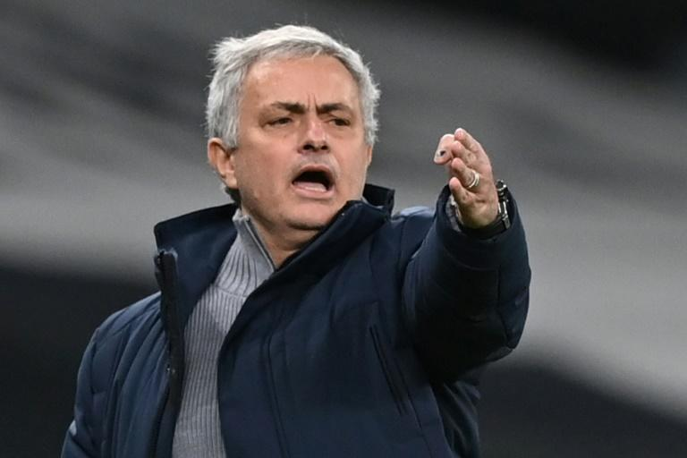 Jose Mourinho has suffered back-to-back home league defeats for the first time in his 20-year managerial career
