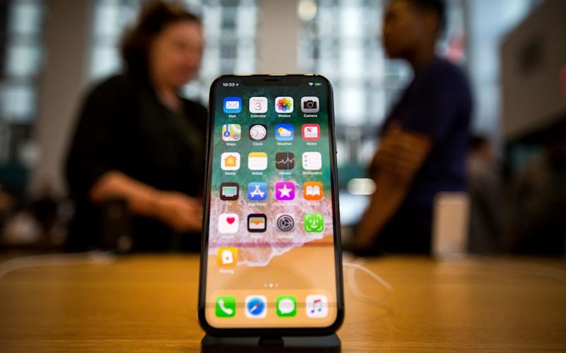 Apple's iPhone X - Bloomberg
