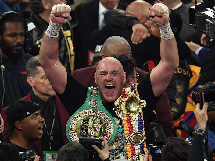 Tyson Fury could yet fight Anthony Joshua in his next bout: Getty