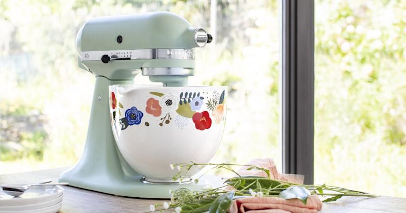 KitchenAid Is Releasing 5 Gorgeous New Stand Mixer Bowls for Spring