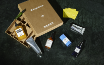 "<p>Our friends at Esquire magazine have launched their first ever Grooming Box, made in partnership with <a href=""https://shop-beast.com/"" rel=""nofollow noopener"" target=""_blank"" data-ylk=""slk:Beast"" class=""link rapid-noclick-resp"">Beast</a>. They tried, tested and selected their favourite products from eight leading brands in the male grooming industry to allow recipients to create the perfect do-everything regime. The very best in body, skin and hair care, for a fraction of the regular cost. </p><p>Worth £220, the box includes eight full-size, industry-leading products - plus a year's subscription to the digital edition of Esquire - for only <a href=""https://www.hearstmagazines.co.uk/esquire-grooming-box-website?utm_source=esquire.com/uk&utm_medium=referral&utm_content=article-presell&utm_campaign=esq-bb-launch"" rel=""nofollow noopener"" target=""_blank"" data-ylk=""slk:£100"" class=""link rapid-noclick-resp"">£100</a>, saving you £120. Tried and tested, hassle-free grooming in one convenient box, perfect for yourself or someone you love. </p><p><a class=""link rapid-noclick-resp"" href=""https://go.redirectingat.com?id=127X1599956&url=https%3A%2F%2Fwww.hearstmagazines.co.uk%2Fesquire-grooming-box-website&sref=https%3A%2F%2Fwww.harpersbazaar.com%2Fuk%2Fchristmas%2Fg34469744%2Fesquire-beast-grooming-box-partnership%2F"" rel=""nofollow noopener"" target=""_blank"" data-ylk=""slk:SHOP"">SHOP</a> </p>"