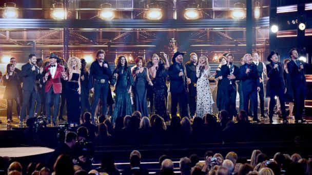 PHOTO: The 51st Annual CMA Awards in Nashville, Nov 8, 2017. (Andrew H. Walker/REX/Shutterstock)