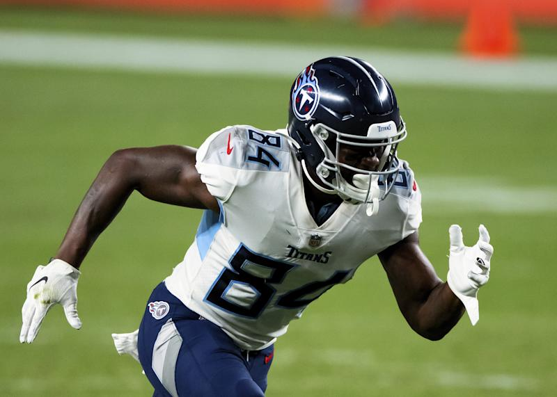 Titans' Corey Davis in the midst of impressive receptions streak