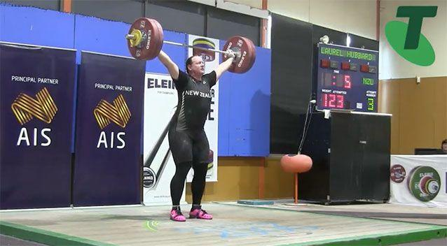 Kiwi weightlifter Laurel Hubbard's win has sparked criticism in the sport. Pictures: Australian Weightlifting Federation