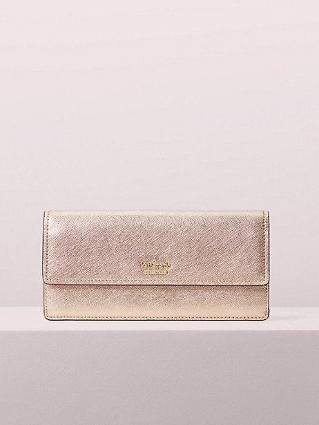 """<strong><h3><a href=""""http://katespade.com"""" rel=""""nofollow noopener"""" target=""""_blank"""" data-ylk=""""slk:Kate Spade Purses"""" class=""""link rapid-noclick-resp"""">Kate Spade Purses</a></h3></strong><a href=""""https://www.instagram.com/thechicmachine/"""" rel=""""nofollow noopener"""" target=""""_blank"""" data-ylk=""""slk:Athena Moore, 21"""" class=""""link rapid-noclick-resp""""><strong>Athena Moore, 21</strong></a><br>The Black Friday sale I always look forward to is the <a href=""""https://www.katespade.com/"""" rel=""""nofollow noopener"""" target=""""_blank"""" data-ylk=""""slk:Kate Spade sale"""" class=""""link rapid-noclick-resp"""">Kate Spade sale</a>. Technically the exact date is a surprise but it's always very close to Black Friday. [Editor's note: It's happening now through December 10.) They have handbags, wallets, and jewelry at dirt cheap prices! I love their Grand Street line especially. <br><br><strong>Kate Spade</strong> Cameron Street Alli, $, available at <a href=""""https://www.katespade.com/products/cameron-street-alli/098687302890.html#srule=rating-best-rated&sz=30&start=1&cm_sp=flyout-_-friendsgiving"""" rel=""""nofollow noopener"""" target=""""_blank"""" data-ylk=""""slk:kate spade"""" class=""""link rapid-noclick-resp"""">kate spade</a>"""