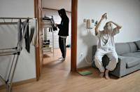 Their training programme leaves the Blitzers less than five hours sleep a night in bunk-beds in their shared Seoul house