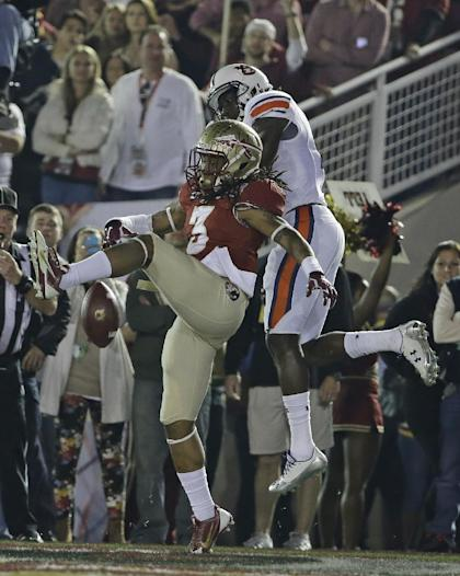 Florida State's Ronald Darby (3) is expected to leave school early for the NFL draft. (AP)