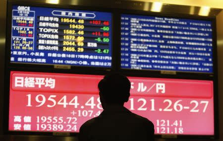 Asian equities tumbled in morning trade on Tuesday