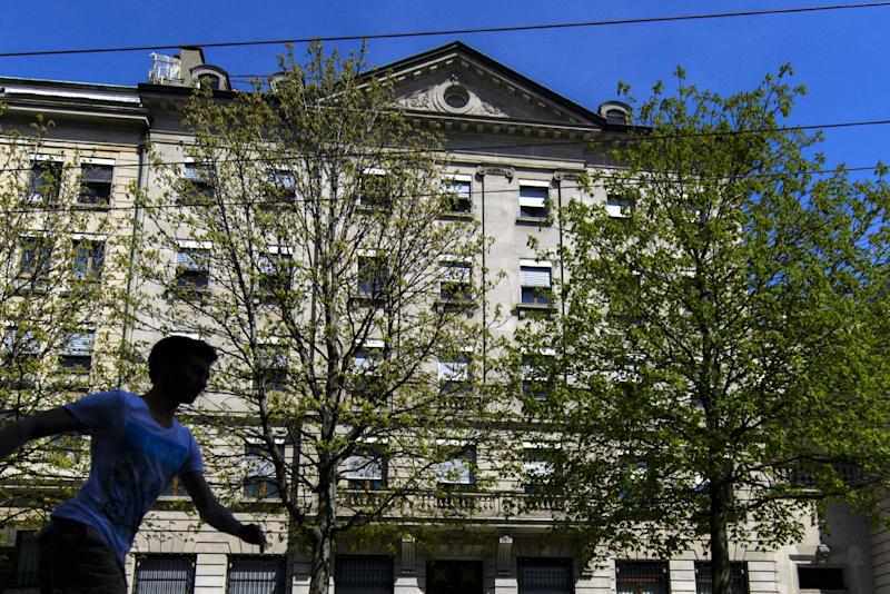 The headquarters of the private bank Lombard Odier & Cie in Geneva on April 17, 2013