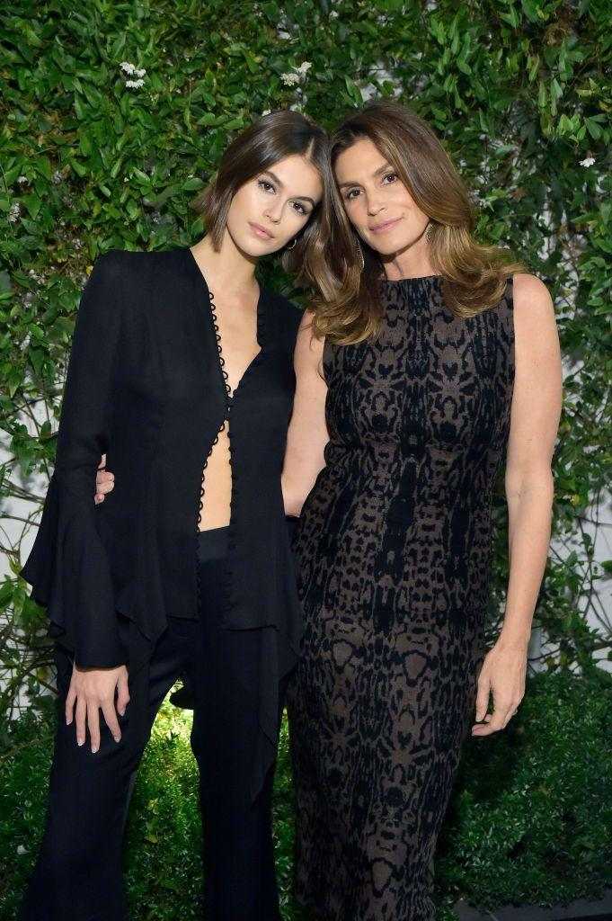 <p>The 18-year-old is nearly a duplicate of her OG supermodel mother, so it's no surprise that her modeling career is already off to an incredible start. Gerber has already walked just about every major runway show and landed several campaigns.</p>