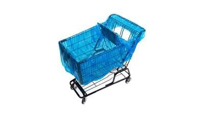 Cart Safe accommodates kids in child seat area