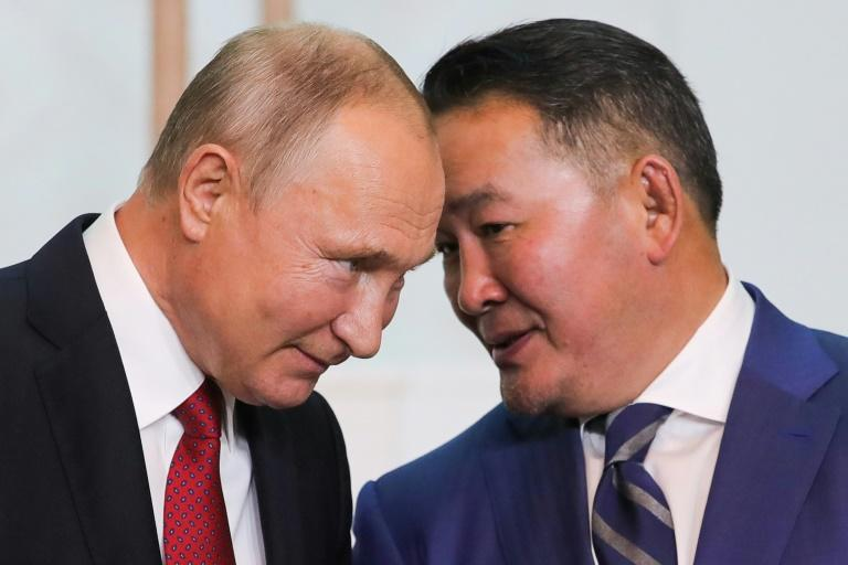 Russian President Vladimir Putin promised to help finance new infrastructure in Mongolia, which wants to reduce its reliance on Beijing