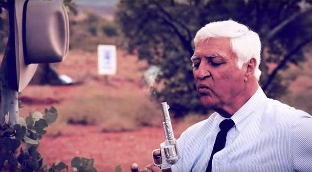 Bob Katter blows smoke from the barrel. Source: Katter Australia Party