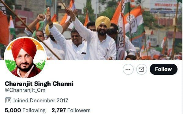 """<div class=""""paragraphs""""><p>The Twitter handle incorrectly spelt Charanjit Singh Channi's name.</p></div>"""