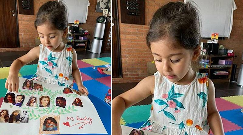 Kareena Kapoor Khan Shares Pics of the 'Pataudi Family Tree' Made By Niece Inaaya Naumi Kemmu!