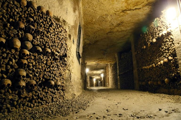 Two teens rescued after spending three days lost in Paris catacombs