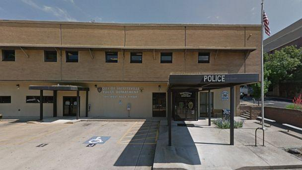 PHOTO: Fayetteville Police Department in Arkansas. (Google Maps Street View)