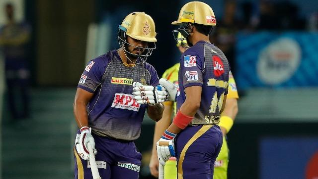 Rana and Shubman Gill (26 off 17 balls) provided KKR with a solid opening partnership. Striking four confident fours, Gill made good use of the powerplay restrictions. Sportzpics