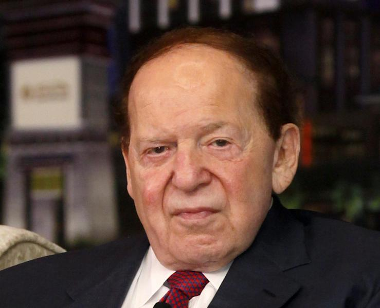 "FILE - In this April 12, 2012 file photo, Las Vegas Sands Chairman and CEO Sheldon Adelson speaks at a news conference for the Sands Cotai Central in Macau. John Ramsey stands out in a new campaign finance world order filled with big names like Republican casino mogul Sheldon Adelson and Democratic Hollywood producer Jeffrey Katzenberg. The little-known senior at Stephen F. Austin University.is the founder of a team of college-aged Republicans that liberals have dubbed the ""Brat PAC,"" which helped propel one congressional candidate to victory and intends to get involved in other House races. And he's just the latest wealthy individual to try to influence federal elections in the wake of a series of federal court decisions that deregulated the campaign finance system and dramatically changed the country's political landscape. (AP Photo/Kin Cheung, File)"