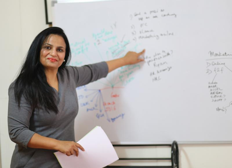 As a leadership coach, Bhavna often deals with corporate leaders at all levels, and conducts workshops in leadership.