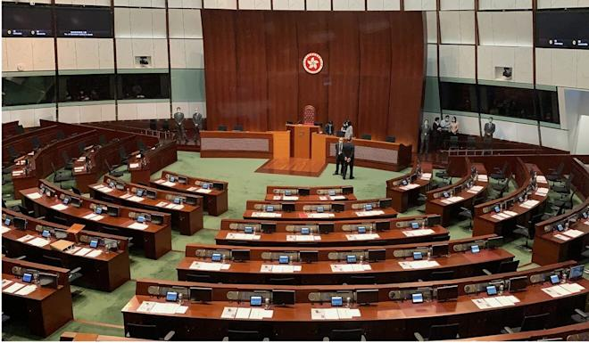 Half of Legco's 70 seats will be contested in geographical constituencies, while the rest will come from trade-based functional constituencies. Photo: May Tse