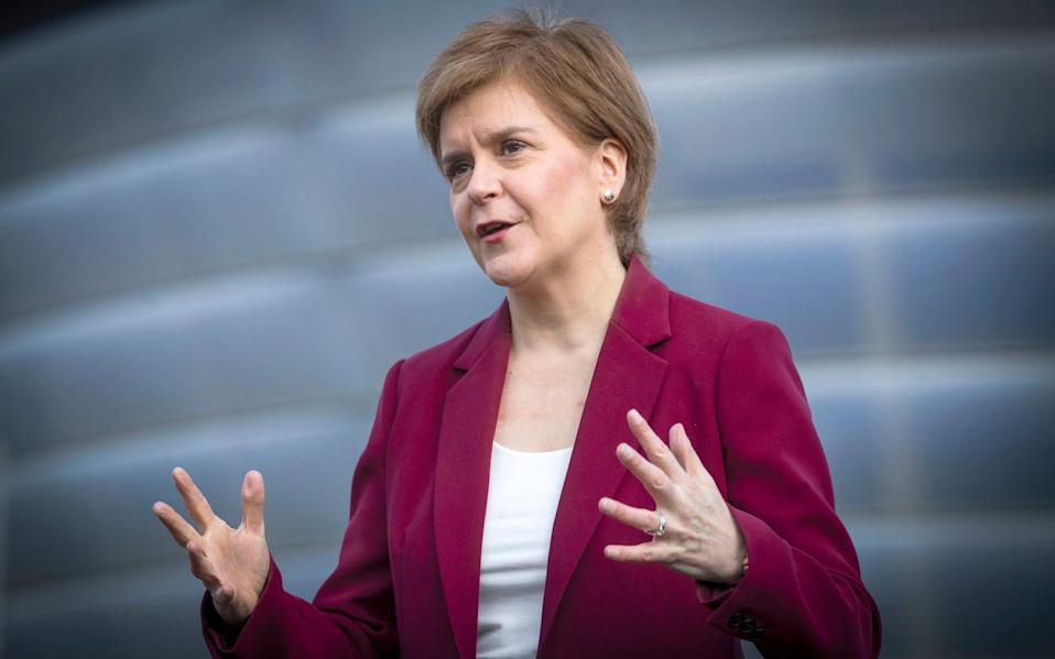 In a bid to reduce waiting times, the SNP leader also vowed to increase inpatient, outpatient and day-case treatment activity by ten per cent above pre-pandemic levels within the first year of the new parliament - PA