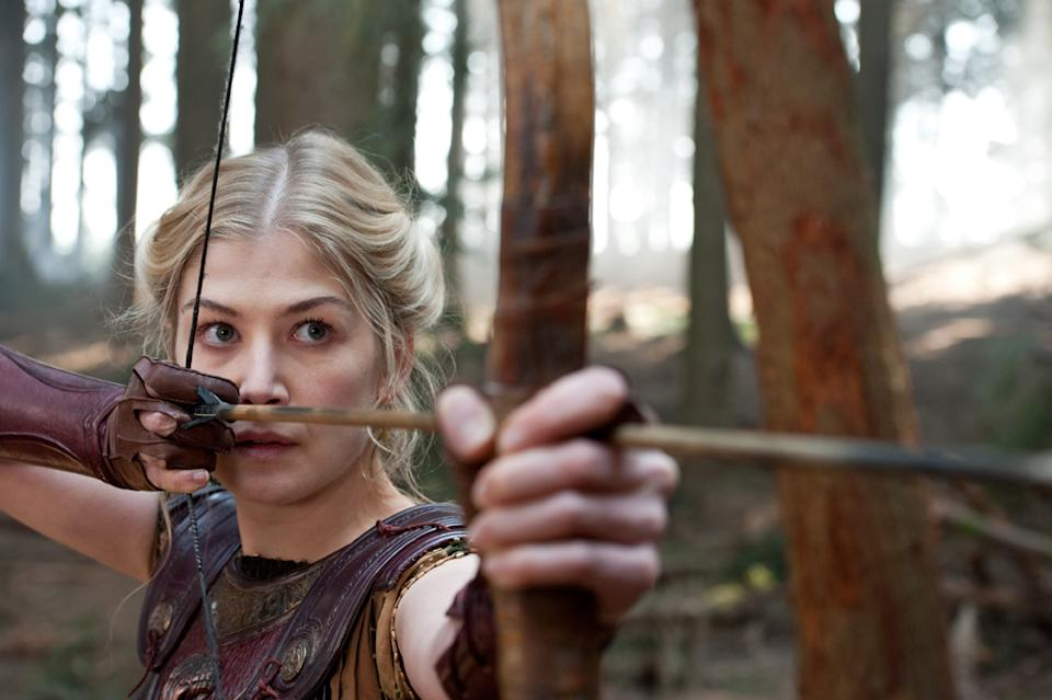 "Rosamund Pike in Warner Bros. Pictures' <a href=""http://movies.yahoo.com/movie/wrath-of-the-titans/"" data-ylk=""slk:Wrath of the Titans"" class=""link rapid-noclick-resp"">Wrath of the Titans</a> - 2012"