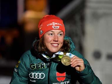 Germany's double Olympic biathlon champion Laura Dahlmeier announces retirement at 25 after struggling with health issues