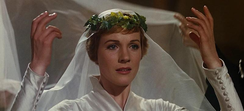 Julie Andrews as Maria von Trapp in 1966's The Sound Of Music (Image via 20th Century Fox)