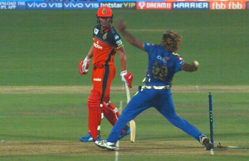 Malinga's No Ball - Image Courtesy (BCCI/IPLR20.com)