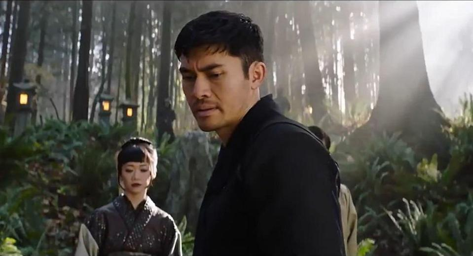 British-Malaysian actor Henry Golding plays the mysterious commando Snake Eyes in the highly-anticipated film. ― Screengrab from Twitter/Snake Eyes
