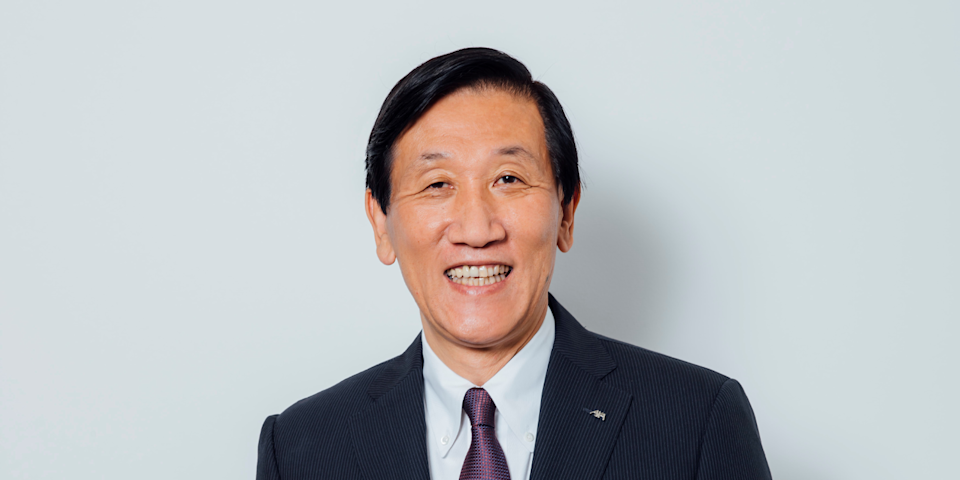 3) Seiji Yasubuchi, Representative Director, President and Chief Executive Officer, AXA Life Japan. Photo: AXA