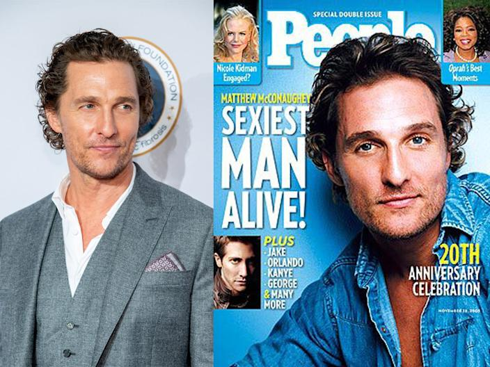 Matthew McConaughey people sexiest man