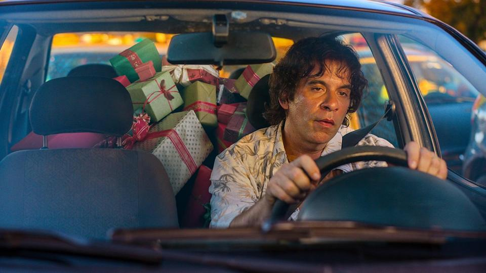 """<p>In this Brazilian holiday comedy, a family man who hates the holidays suffers a nasty fall on Christmas and finds himself stuck in a <strong>Groundhog Day</strong>-esque time loop, where he's forced to experience Christmas every day. </p> <p>Watch <a href=""""http://www.netflix.com/title/81160045"""" class=""""link rapid-noclick-resp"""" rel=""""nofollow noopener"""" target=""""_blank"""" data-ylk=""""slk:Just Another Christmas""""><strong>Just Another Christmas</strong></a> on Netflix now.</p>"""