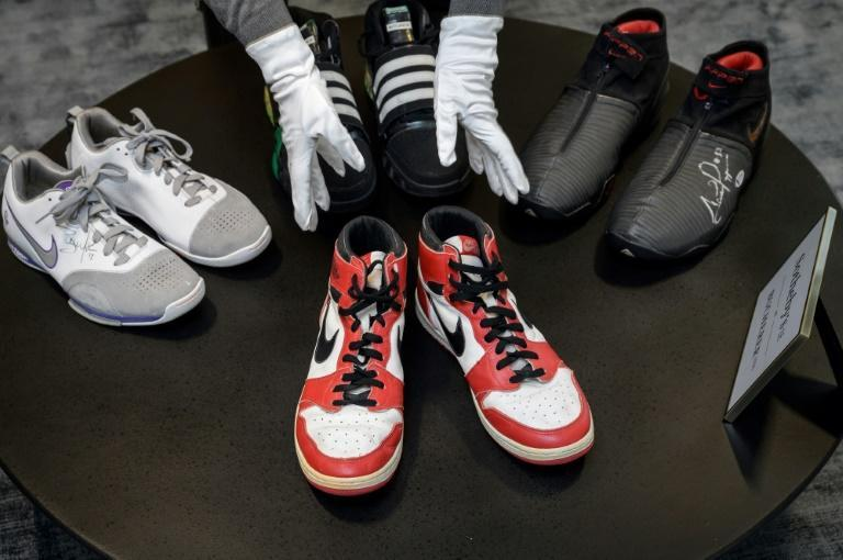 This was Sotheby's debut global dedicated sneaker auction, conducted entirely online