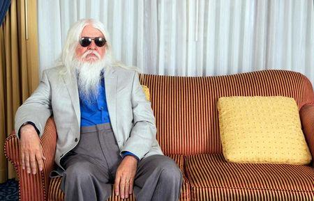 Musician Leon Russell poses for a portrait in New York June 15, 2011. Russell toiled in obscurity for decades, until recording with Elton John brought him an unlikely hit, but says he was never bitter his fame disappeared because that's just what happens to aging rockers. Picture taken June 15.  REUTERS/Lucas Jackson/File Photo