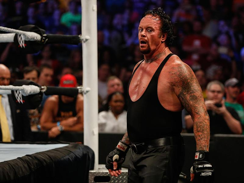 The Undertaker's loss to Roman Reigns ended his career at Wrestlemania 33: Getty