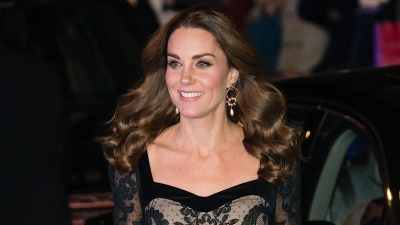 Kate Middleton Is a Vision at Royal Variety Performance With Prince William: Pics