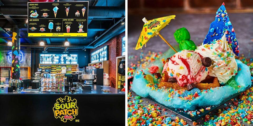 The World S First Sour Patch Kids Store Just Opened And It S Complete With Candy Inspired Desserts