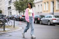 """<p>At this point, plush cardigans, loose-fit jeans, and dad sneakers are requirements in every wardrobe. Wear yours all at once, layered over a bright tank (<a href=""""http://www.seventeen.com/fashion/trends/g32336517/tie-dye-loungewear/"""" rel=""""nofollow noopener"""" target=""""_blank"""" data-ylk=""""slk:preferably tie-dye"""" class=""""link rapid-noclick-resp"""">preferably tie-dye</a>). </p>"""