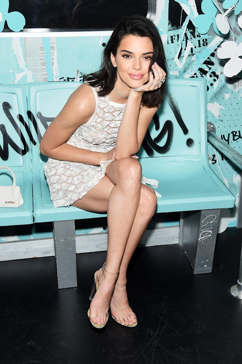 Kendall Jenner attends the Tiffany & Co. Paper Flowers event and Believe In Dreams campaign launch.