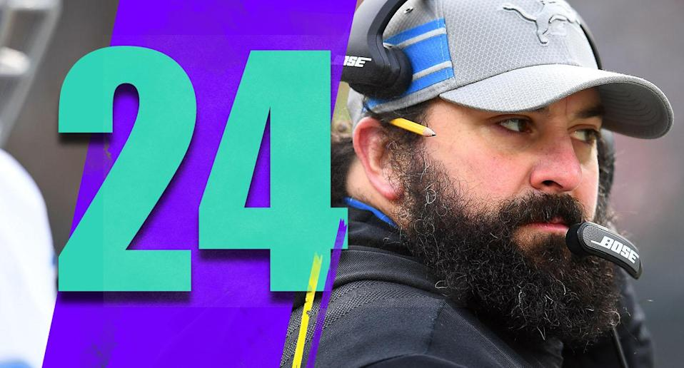 <p>Good of the Lions to finally show up this season, even if it took until Week 17. Maybe that shows the players are still buying what Matt Patricia is selling. (Matt Patricia) </p>